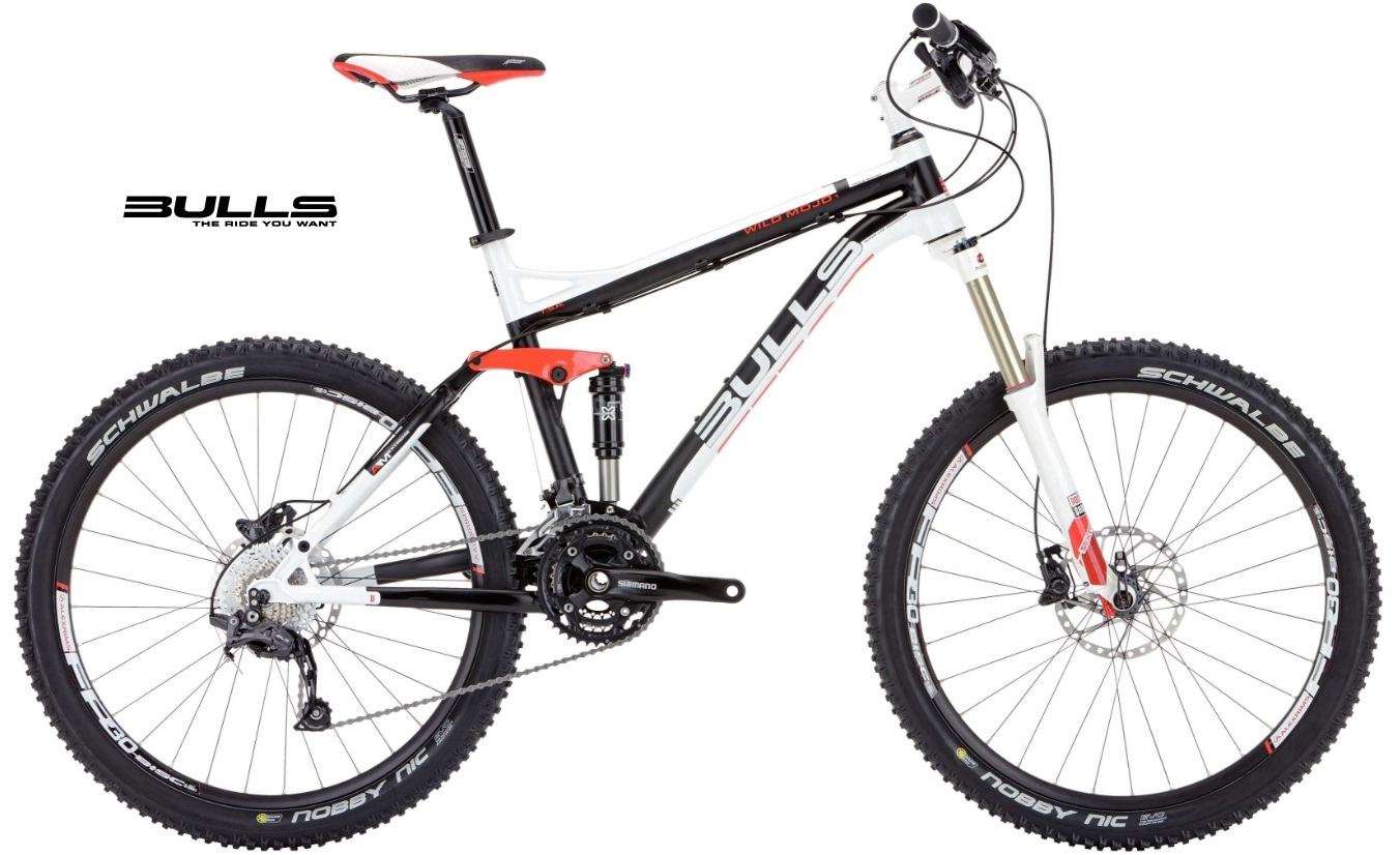 mountainbike bulls wild mojo 1 fully 26 zoll fahrrad. Black Bedroom Furniture Sets. Home Design Ideas
