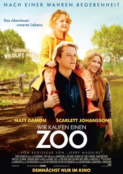 """Preview: Für 50 Cent zu Zweit zur Kino Preview von """"Wir kaufen einen Zoo"""" - versch. Städte!"""