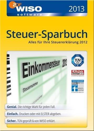 ebay: WISO Steuer-Sparbuch 2013 (für 2012) für nur 24,99€ inkl. Versand!
