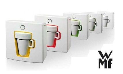preisbock wmf 1 kaffeepadmaschine in verschiedenen farben nur 59 90 euro. Black Bedroom Furniture Sets. Home Design Ideas