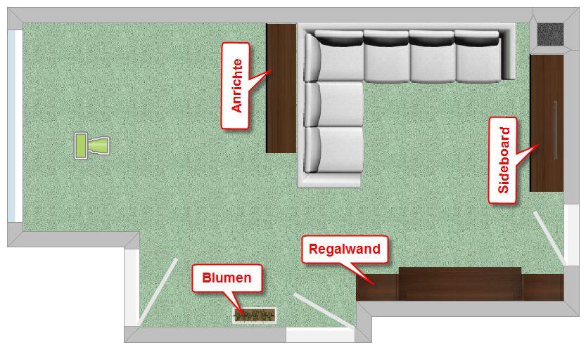 feng shui wohnzimmer grundriss ihr traumhaus ideen. Black Bedroom Furniture Sets. Home Design Ideas
