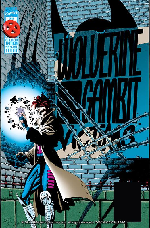 Wolverine - Gambit #1-4 (1995) Complete
