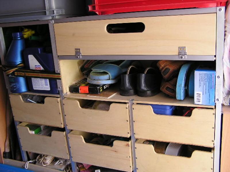 Regal garage  Mobile Freiheit • Thema anzeigen - Regal in der Garage