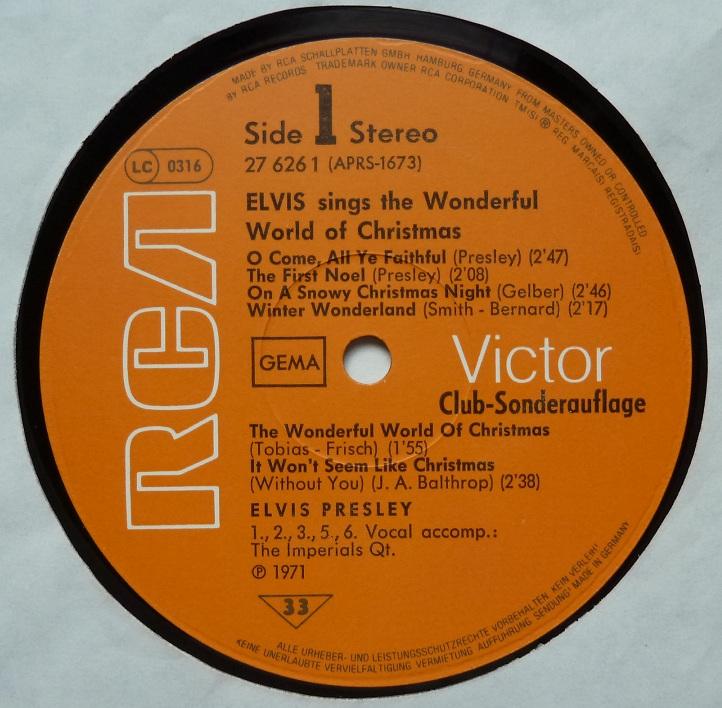 ELVIS SINGS THE WONDERFUL WORLD OF CHRISTMAS Wonderfulworldofchris3eqiu