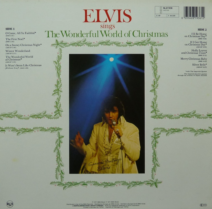 ELVIS SINGS THE WONDERFUL WORLD OF CHRISTMAS Wonderfulworldofchris3irpg