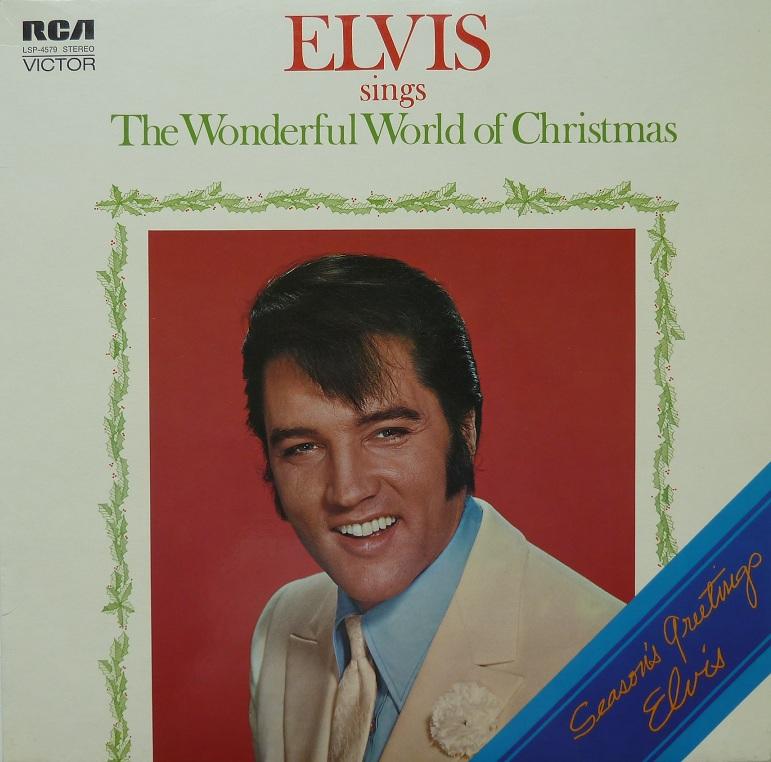 ELVIS SINGS THE WONDERFUL WORLD OF CHRISTMAS Wonderfulworldofchrismezfv