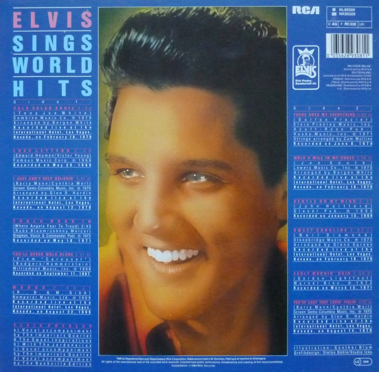 ELVIS SINGS WORLD HITS Worldhitsrckseite07pzm