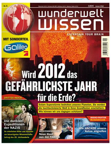 GuJ: Jahresabo der Wunderwelt Wissen für nur 5,80€ - 48Cent je Ausgabe dank BestChoice Gutschein