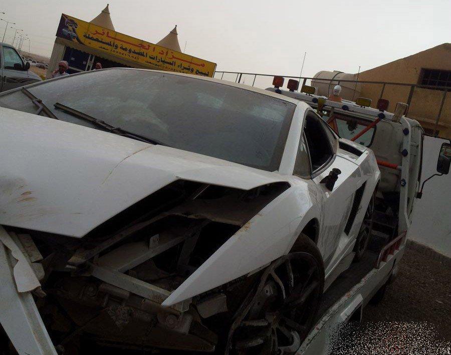 Wypadki najdroższych samochodów #2 21
