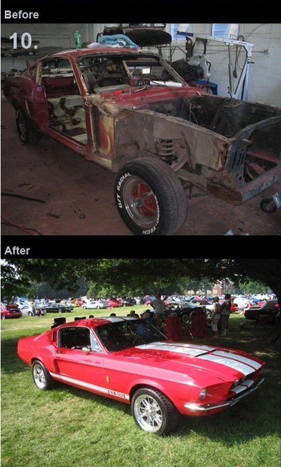 Odrestaurowane samochody 10