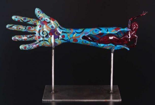 Rzeźby ze szkła 21