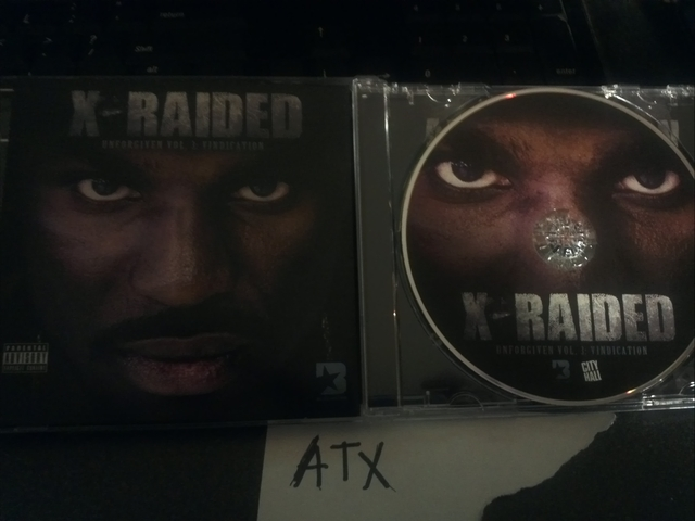 Cover: X-Raided - Unforgiven Vol. 3 Vindication-2011-ATX