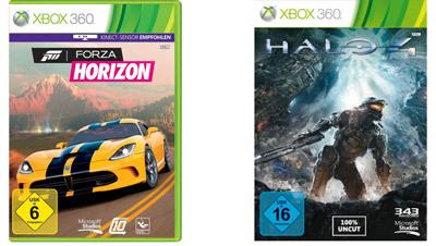 amazon: Halo 4 und Forza Horizon (Xbox 360) für je 34,48€ inkl. Versand