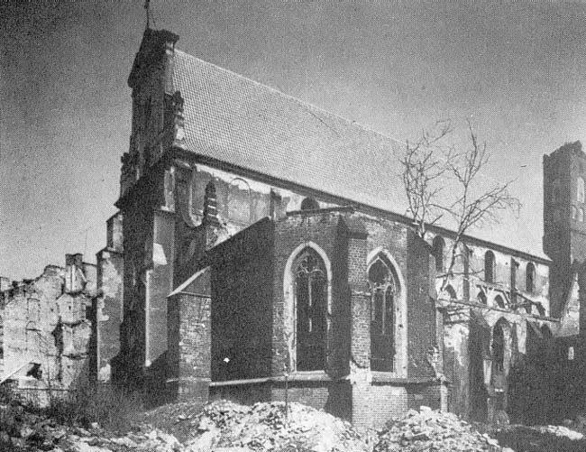 Wrocław  1945 Zniszczenia 47