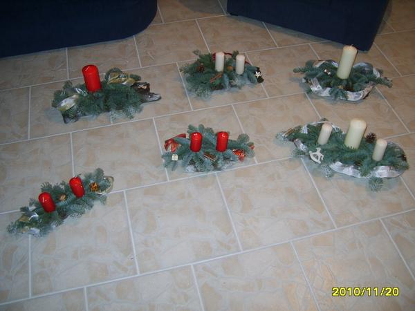Gestecke basteln for Gestecke basteln weihnachten