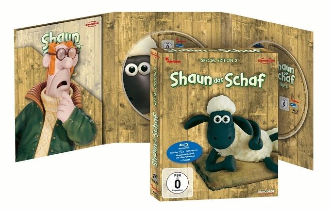 amazon: Shaun das Schaf - Box 2 [Blu-ray] [Special Edition] für nur 9,97€ inkl. Versand!