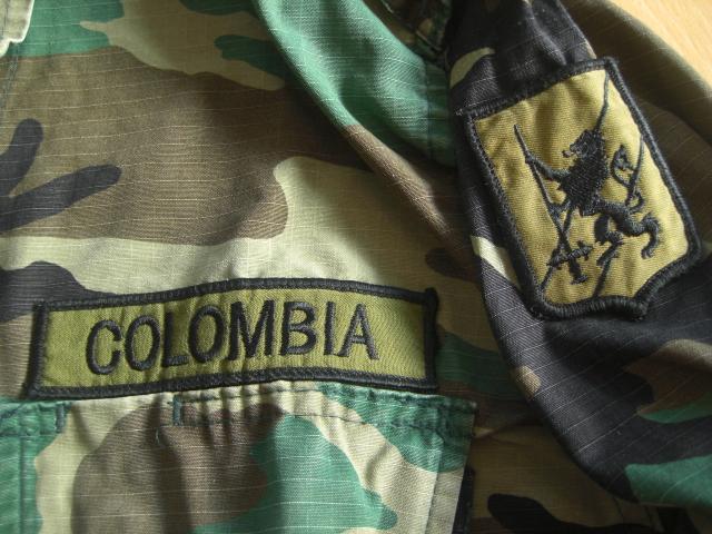 Colombian woodland shirt Y01923bv