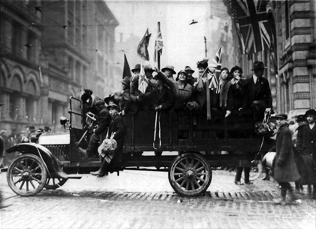 Zakończenie I wojny światowej 25
