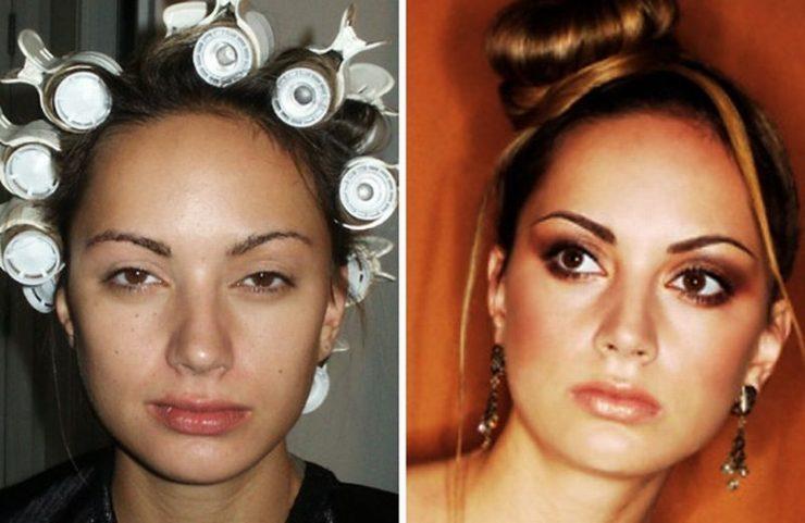 Ile zmienia dobry makijaż? #2 20
