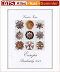 Zeige Europäische Orden von 1700-1990 Preiskatalog 2009