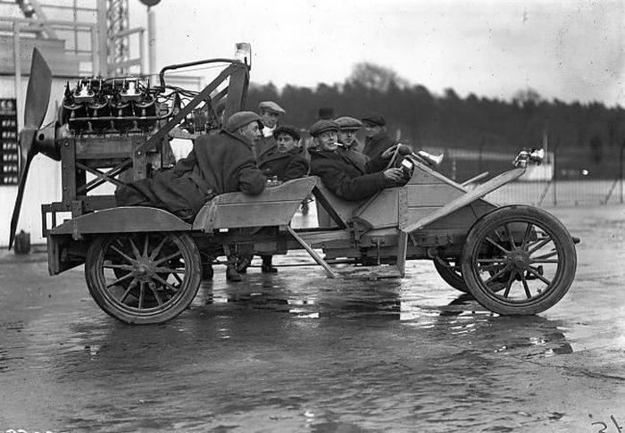 Nietypowe pojazdy sprzed lat 3