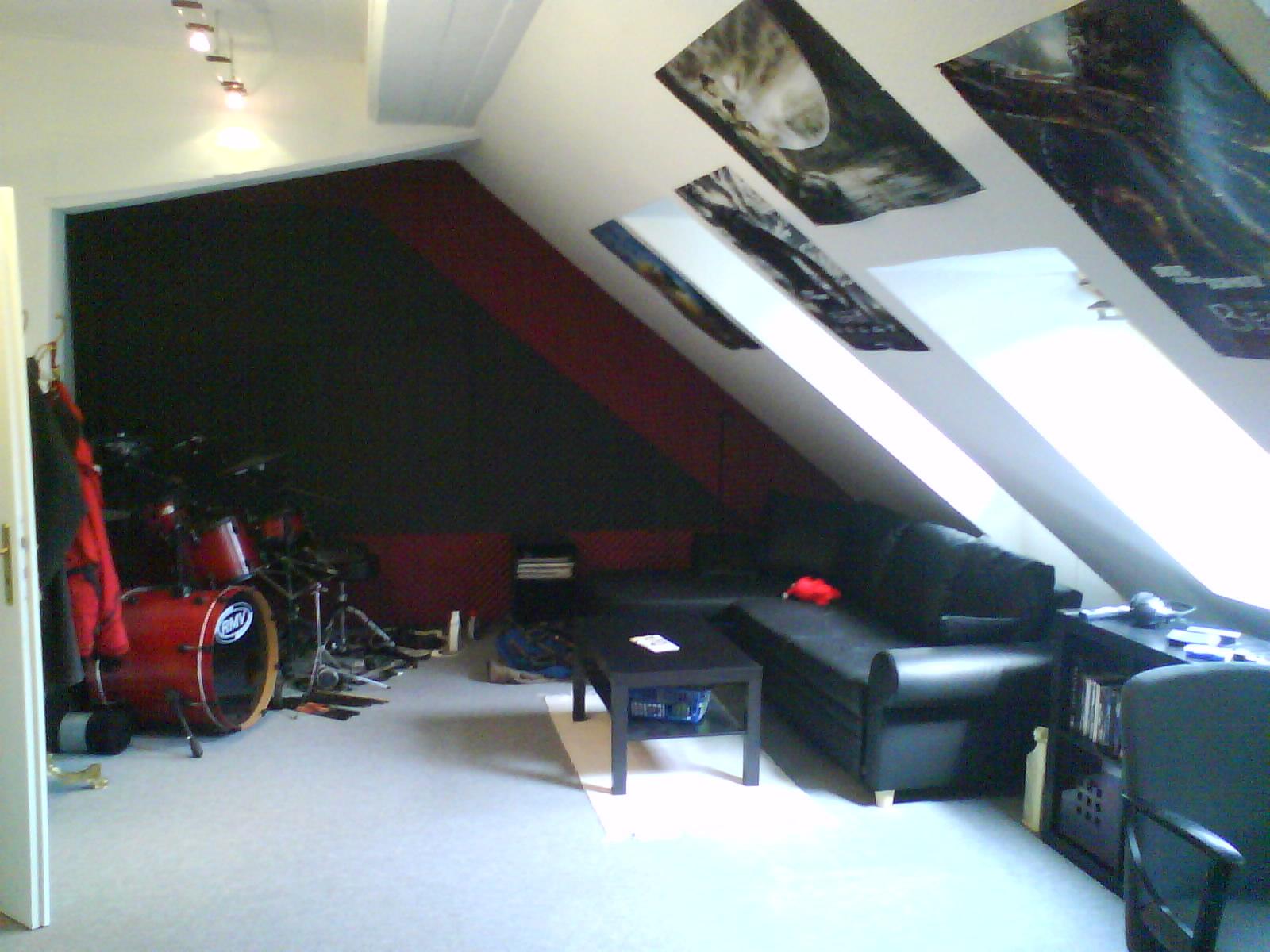 pimp my room oder nanovarium und schallschutz to extreme 8 mb bilder drummergalerie. Black Bedroom Furniture Sets. Home Design Ideas