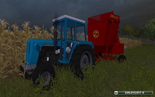 Zmaj 214 Maize Harvester