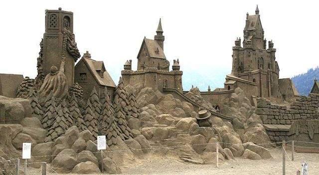 Rzeźby w piasku #2 2