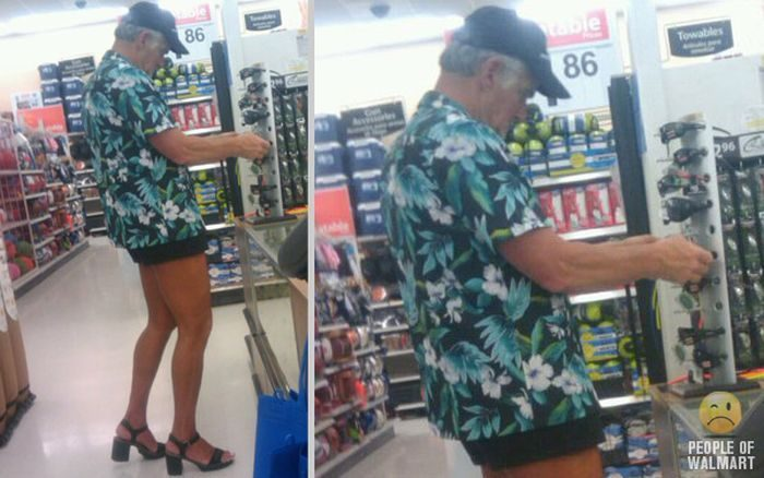 Najdziwniejsi klienci z WalMart #18 22