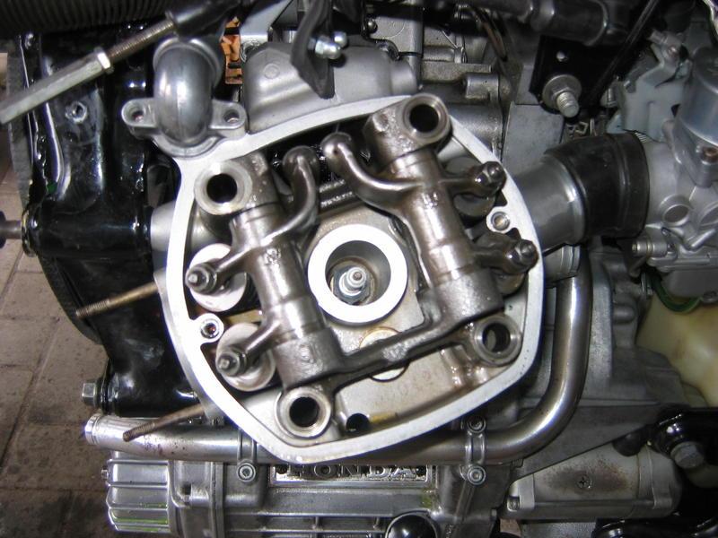 Zylinderkopfdichtung wechseln ohne Motorausbau Zylinderkopfschrauben1zswp