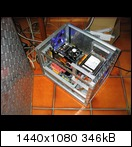 Testeinbau des C2D+Board+GF 9800GT sowie dem gammeligen Boxed-Kühler