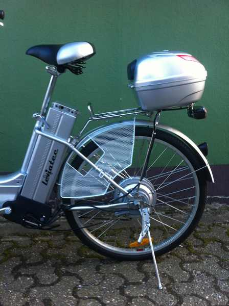 elektrofahrrad e bike leviatec z1 silber 36v 250watt akku. Black Bedroom Furniture Sets. Home Design Ideas