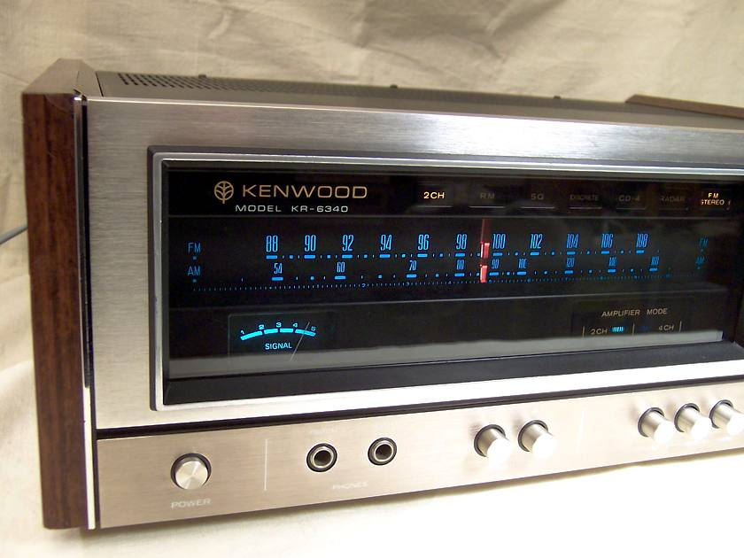 Kenwood kr 6340 manual