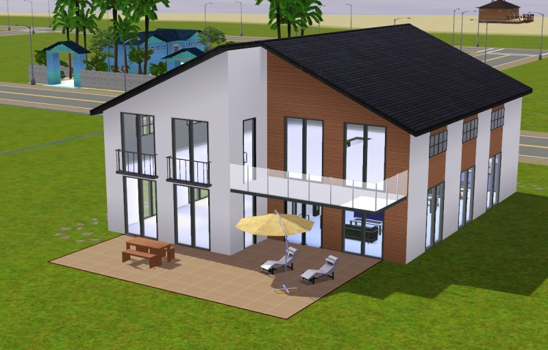 wanted ein modernes haus f r 2 personen das gro e sims 3 forum von und f r fans. Black Bedroom Furniture Sets. Home Design Ideas