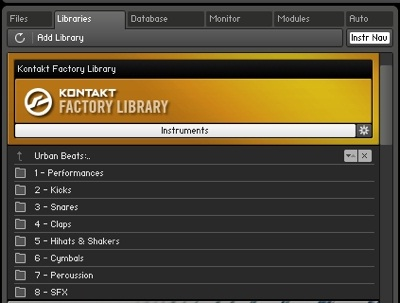 kontakt 5 factory library missing | AudioSEX - Professional