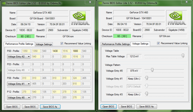 I want your GTX460 vBIOSes! [Archive] - XtremeSystems Forums