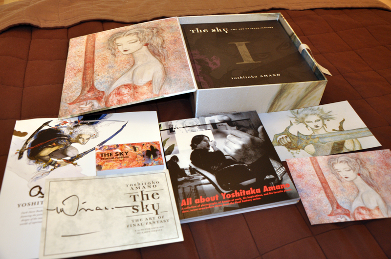 The Sky: The Art of Final Fantasy Slipcased Edition download