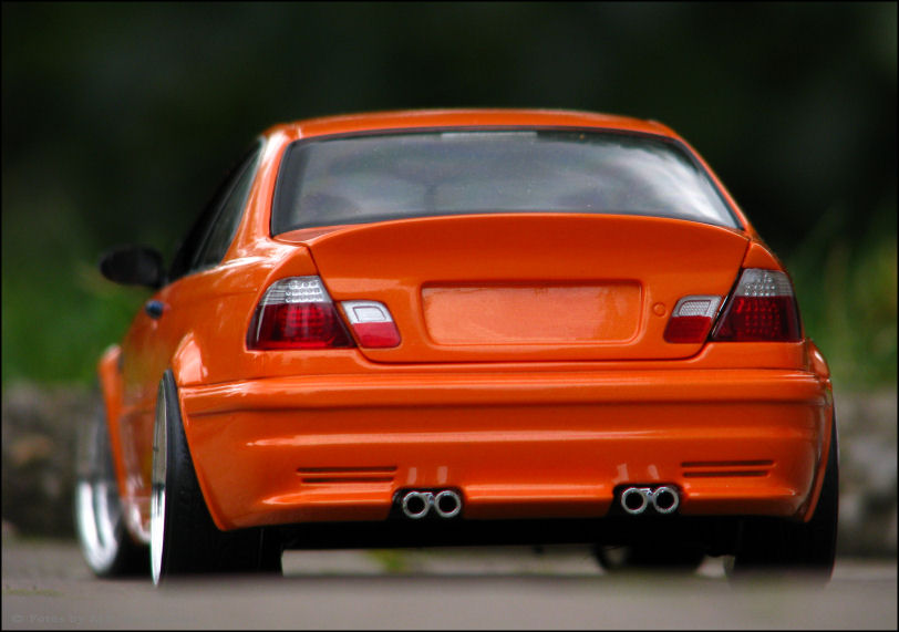 1 18 tuning bmw e46 m3 gtr csl umbau lambo orange. Black Bedroom Furniture Sets. Home Design Ideas