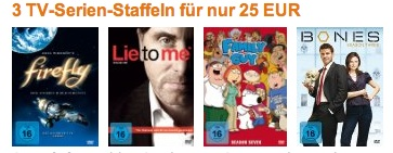 3 TV-Serien-Staffeln Amazon