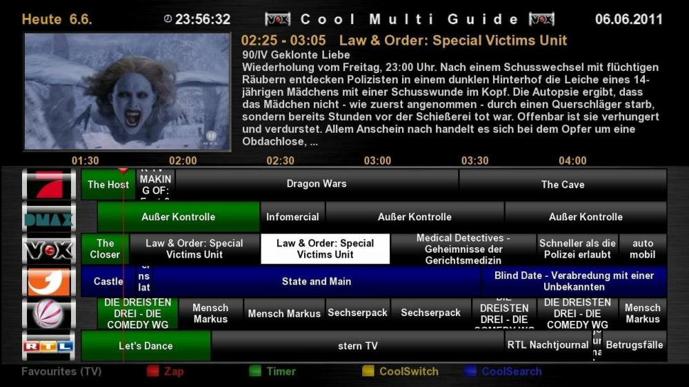 Cool TV Guide by Coolman