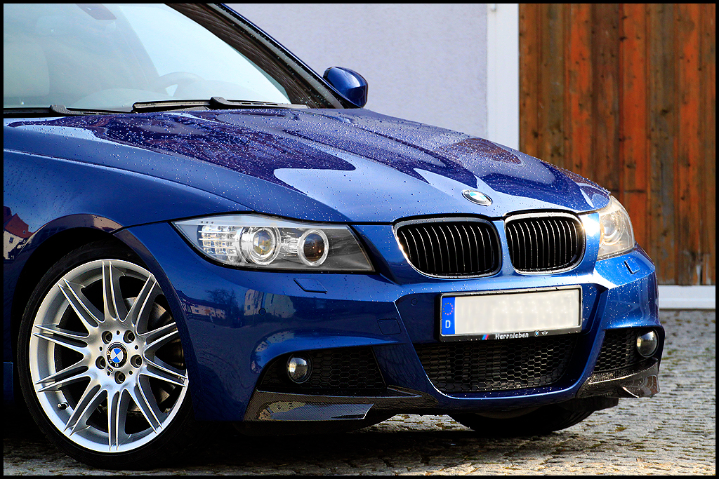 bmw zobacz temat 335i e91 lci le mans blau. Black Bedroom Furniture Sets. Home Design Ideas