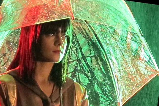 Alizée Art : Photos of the music video from William Réjault