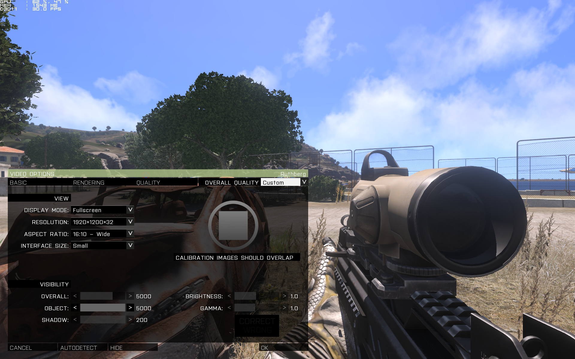 Arma 3 Server View Distance query: advanced search