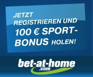 Bet at Home - 100,00 Euro Bonus