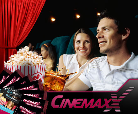 10 Cinemaxx Kinotickets