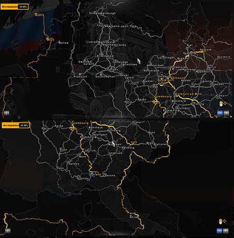 Australia Map Ets2.Euro Truck Simulator 2 Map Legend Cavufi Blog