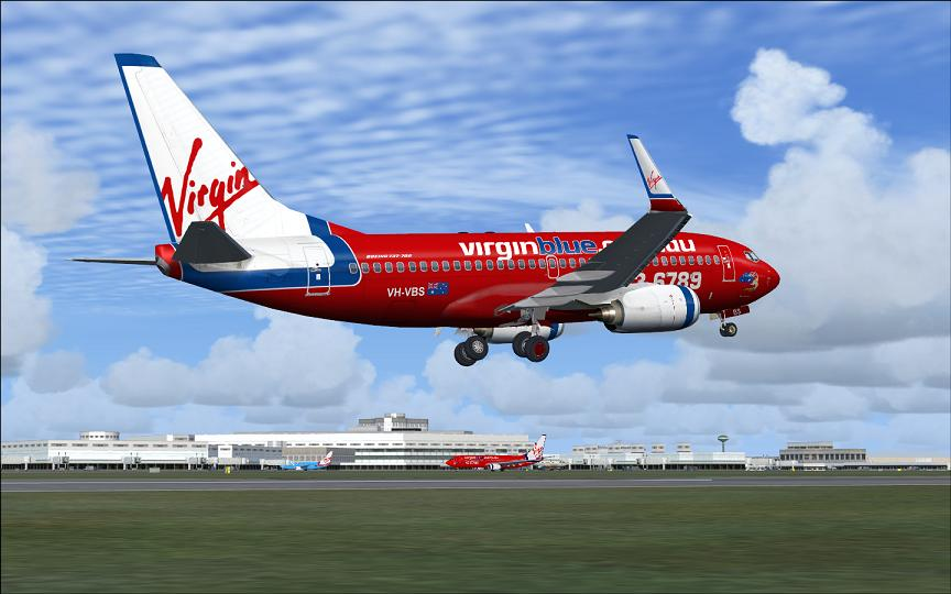 Virgin Blue flights DJ372/DJ697 Melbourne-Hobart-Adelaide
