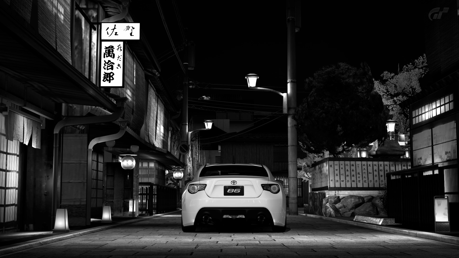 Wallpaper toyota gt und subaru brz mediagalerie - Car wallpaper black and white ...