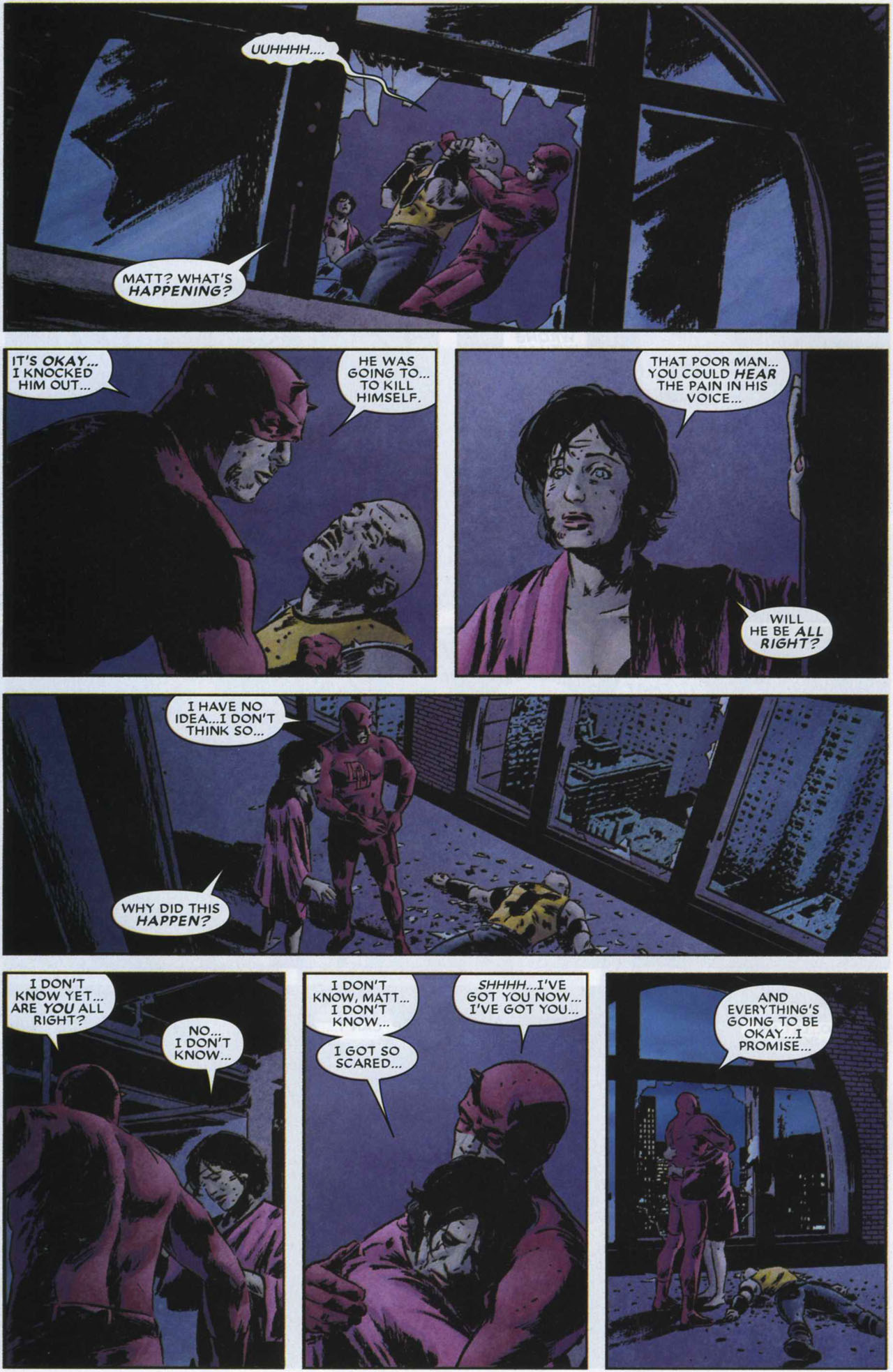 scans_daily | Brubaker's Daredevil Part 3: To the Devil, His Due