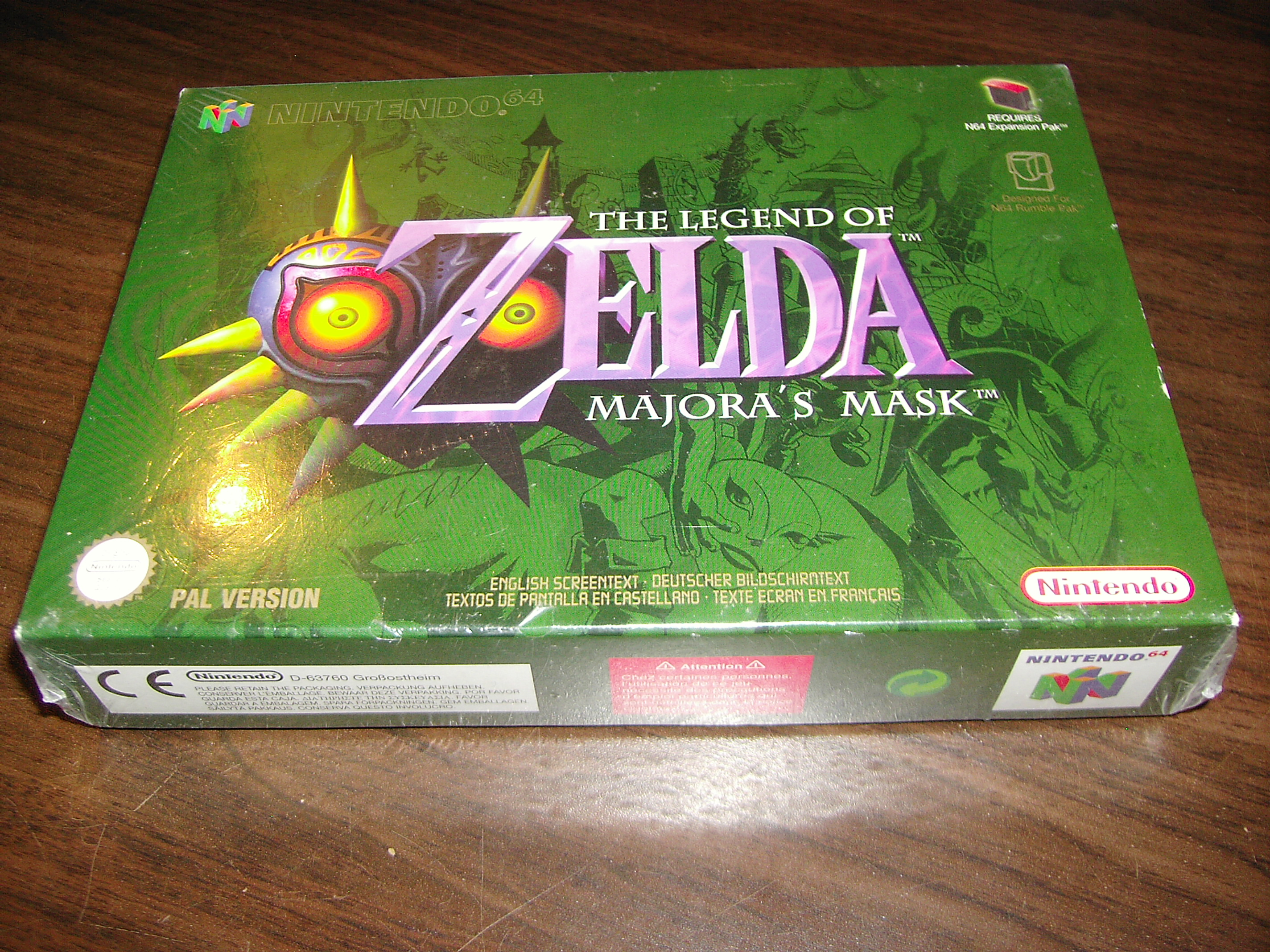 Question on sealed N64 games - Nintendo 64 Forever